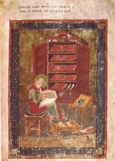 Codex Amiatinus 'Ezra Portrait'