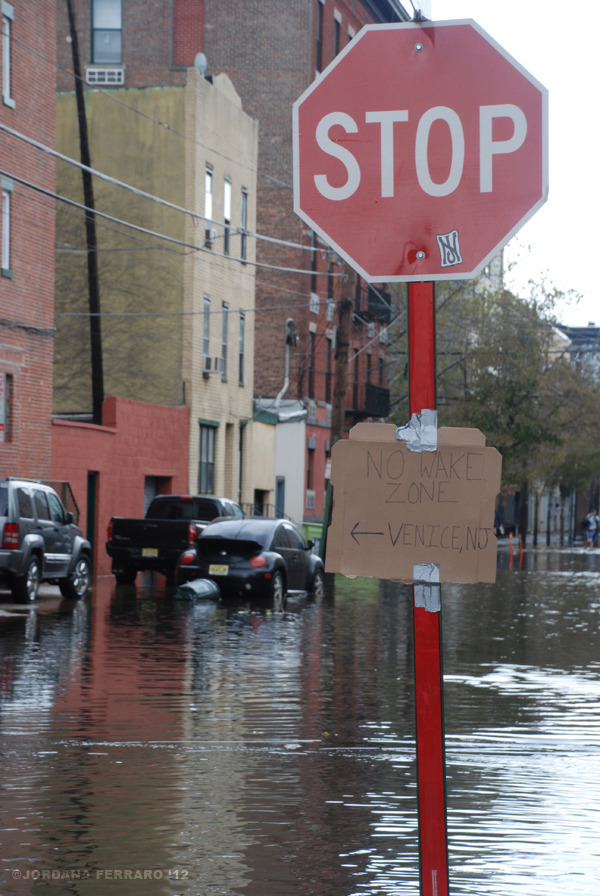I hope everyone is safe after Hurricane Sandy. Hoboken, where I live and and this photo was taken, took a pretty hard hit. If you want to help out, you can donate to Rebuild Hoboken (run by the city of Hoboken). Or of course you can always donate to the Red Cross to help the entire region affected by the storm.