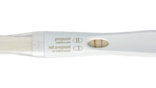Man takes pregnancy test, gets shocking resultAfter taking the test as a joke, a positive result leads to a cancer diagnosis.