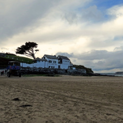 The magical Pilchard Inn, Burgh Island.