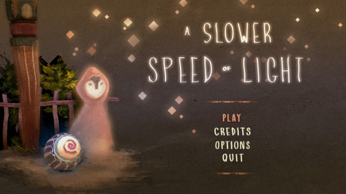 science:   A Slower Speed of Light is a free little game from the MIT Game Lab. It visually demonstrates the effects of relativity. You move around in the first person picking up orbs which slow down the speed of light—the effect being that your normal walking speed inches ever closer to light speed. When you move faster—or light moves slower—colors begin to morph as the invisible shifts into the visible spectrum, until finally time and space themselves start bending. Very trippy, but based on real physics.