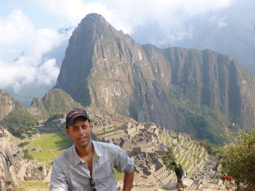 brandonstrek:  Inca Trail to Machu Pichu Oct Its been a month since I finished my four day hike along the Inca Trail to Machu Pichu but its still one of the most memorable parts of my trip.  We hiked along the original Inca Trail constructed hundreds of years ago.  We reached a peek alititude of 4200m on the second day and descended our third day to see more great landscapes dotted with ruins.  It took a total of 12 porters and 2 guides to get our group of 13 trekkers over the trail.  They did an excellent job with all our accomodations and made some of the best food I've had in South America while two days hike from civilization.  Our porters worked extremely hard carrying 20kg packs for four days. The highlight of the trip for me was reaching Machu Pichu and seing this amazing setting along with realizing I didn't have to hike anymore!  After returning to Cusco I took a few days of rest and made some new gringo friends in town.  Its easy to see why this place is mobbed with tourists as this is a site everyone should get a chance to see.  My brother!