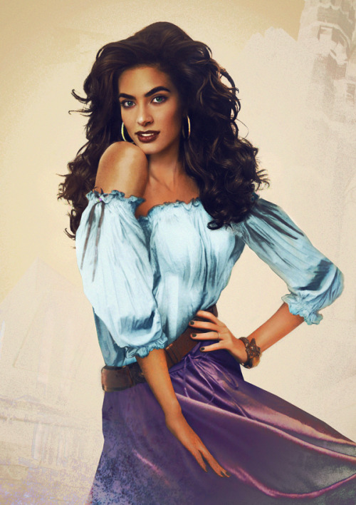 Esmeralda from The Hunchback of Notre-Dame (source)