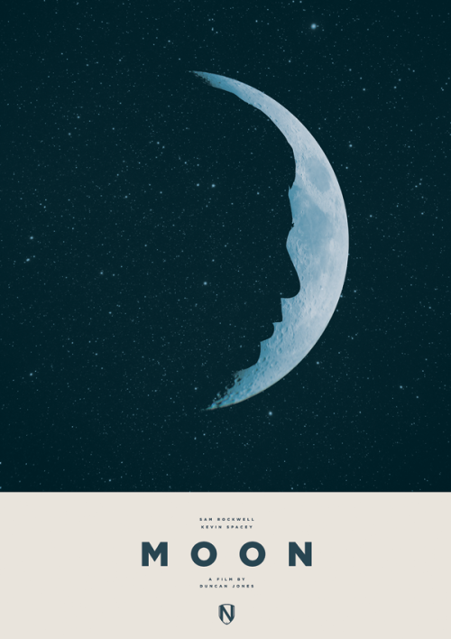 beautyliesinmovieposters:  Moon alternative movie poster designed by Matt NeedleAvailable here: http://needledesign.bigcartel.com/product/moon