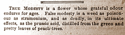 treselegant:  'TRUE MODESTY.' Bow Bells, 1866.   http://z7.invisionfree.com/Uncanny_Incantations/index.php