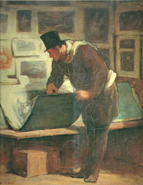 "Honoré Daumier "" le collectionneur d'estampes """