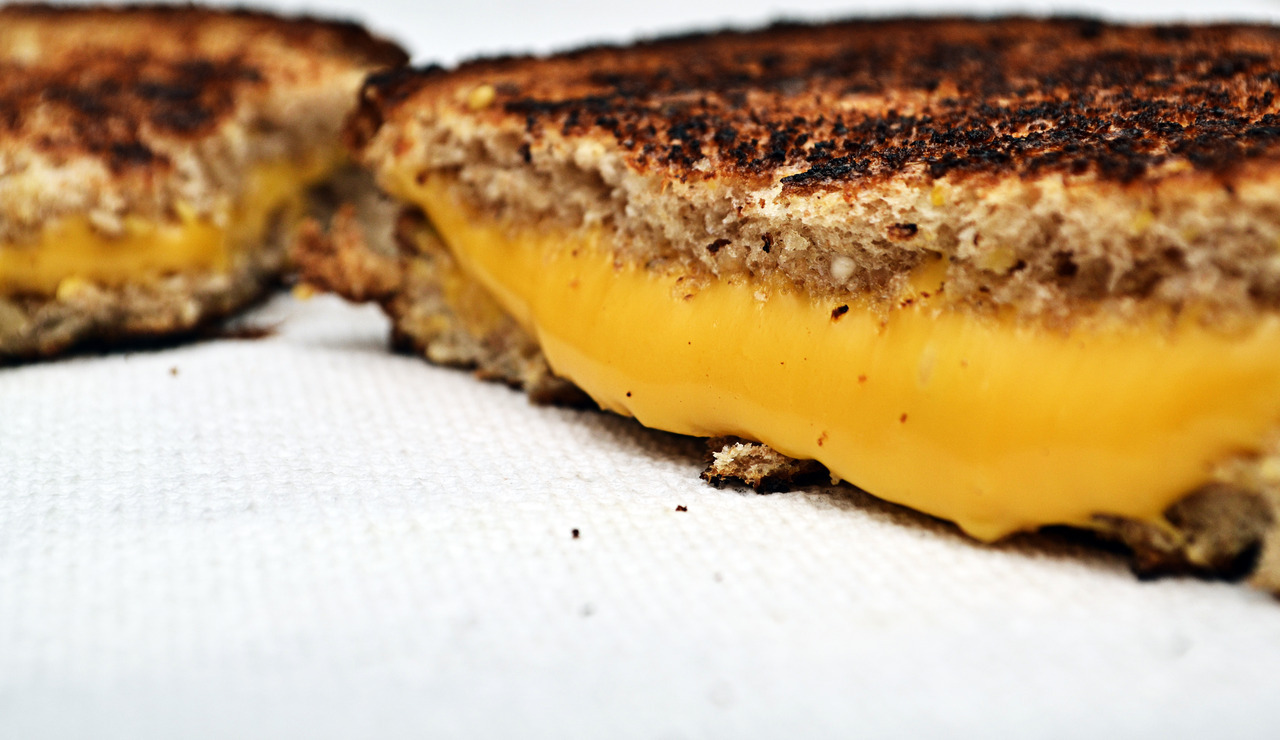 photogeniccreation:  Todays Lunch Special- Grilled Cheese!  Food is so Good