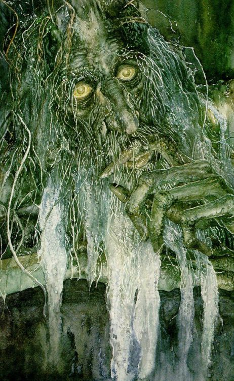 "Treebeard by Alan LeeTreebeard, also known as Fangorn, was the oldest of the Ents, a tree-like being who was a sort of ""shepherd of trees""."