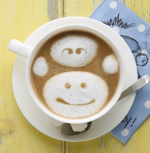 Quit monkeying around and find out how you can make your own easy latte art here!