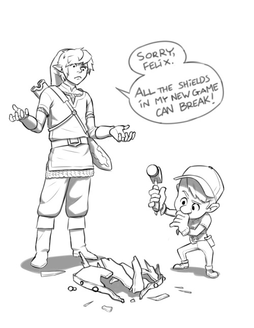 itsateben:  I like the idea of Felix being handyman for the video game universe in general.