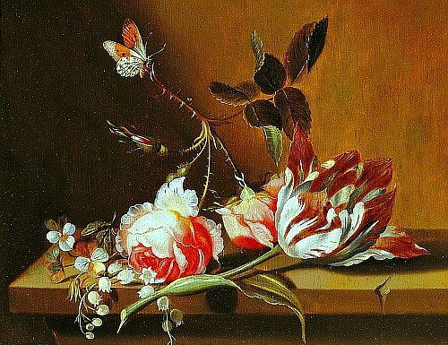 stilllifequickheart:  Jacob Marrel Flower Still Life 1645