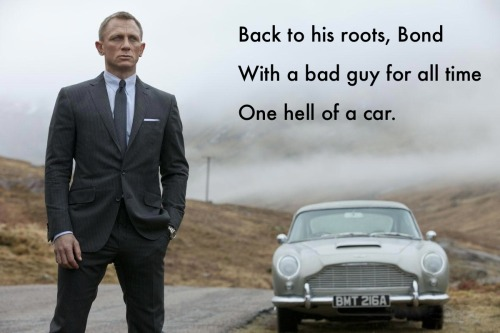 reviewinhaiku:  Skyfall