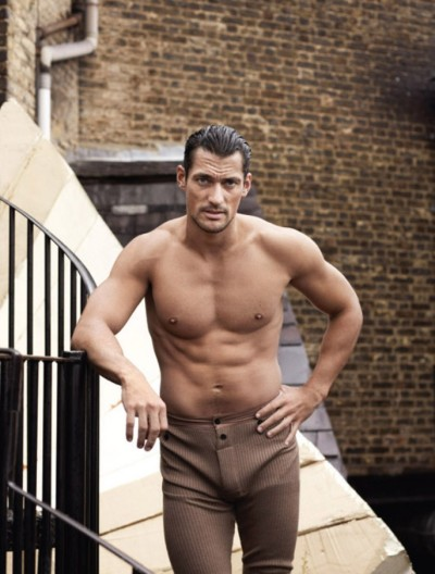 David Gandy for 10 Men Magazine [W/S 2012/2013]