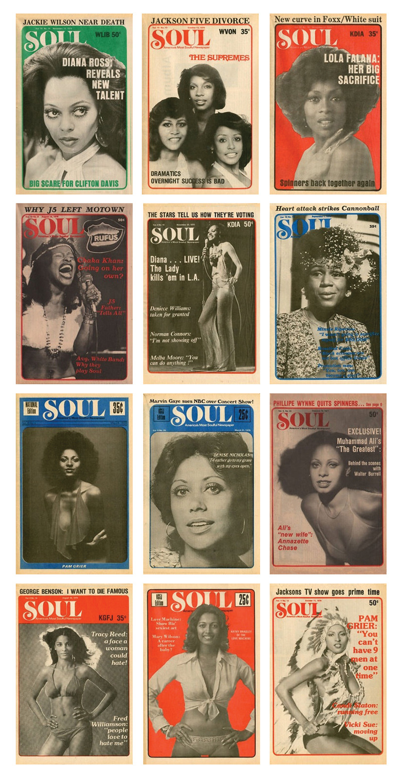 ubiquityrecords:  Vintage Soul Magazines…