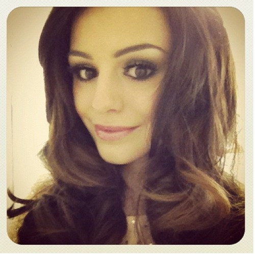 """Cherlloyd Just about to go on stage at Girls Award 2012!!!xxx(:""  instagram picture"