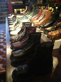 mediumicedcoffee:  Dr Marten's, Boston