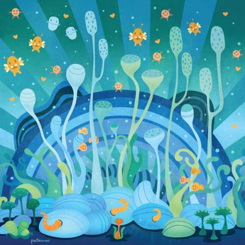 Under the Sea by Piktorama http://society6.com/piktorama/Under-the-Sea-dRL_Print