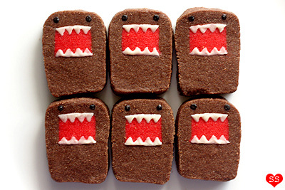 Domo-kun biscuits!