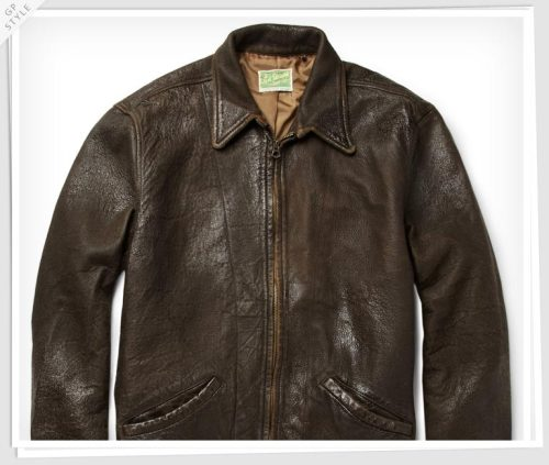 Bond Style Pick: Levi's Vintage 1930s Leather Jacket. Helping Bond shine as a cool-blooded killer.
