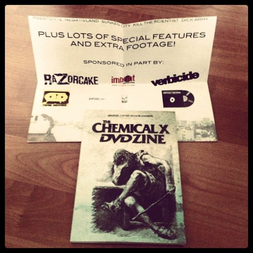 CHEMICAL X DVD!!
