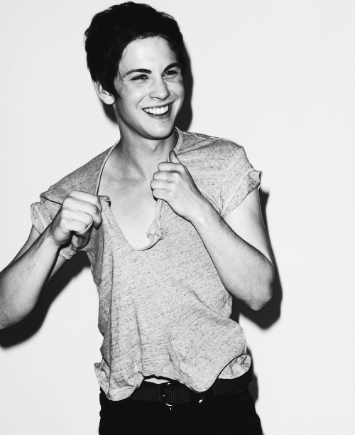 -420:  im actually dating logan lerman