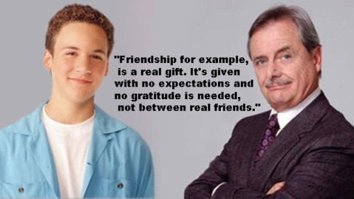 "buzzfeedrewind:  The 13 Most Important Life Lessons Learned From Mr. Feeny On ""Boy Meets World"""