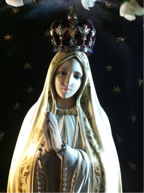 Our Lady of Fatima in the Dominican church of Santa Marija ta Porto Salvo in Valletta, Malta.
