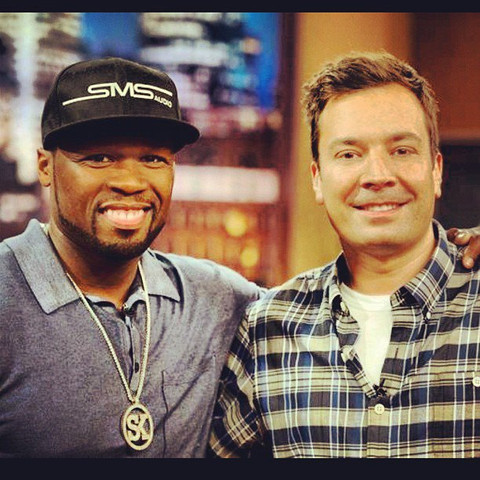 last time i was on QVC with JIMMY FALLON.i'll be back on this SATURDAY present my new SMS Audio headphones @ 10 PM