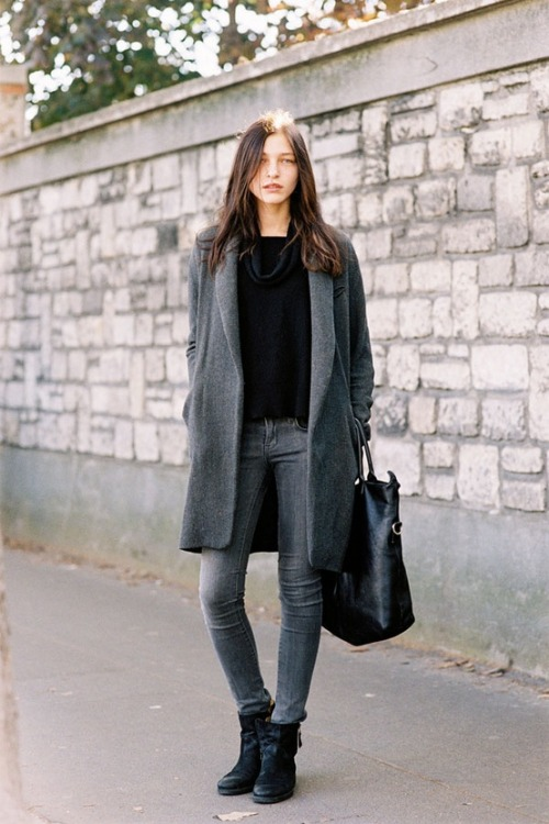 foxontherun:  (via My Style / Black & Grey)