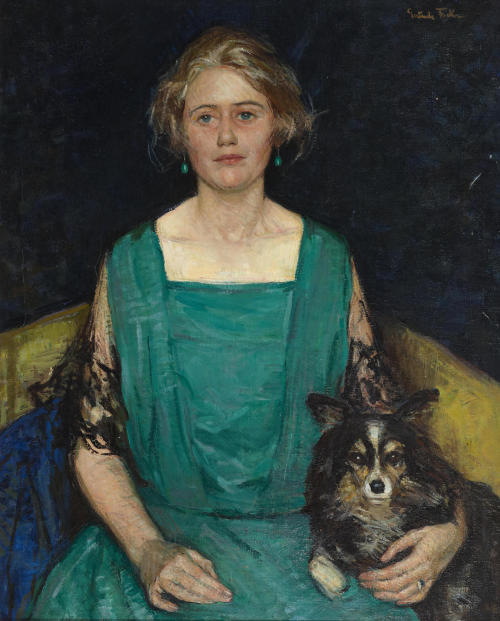 fleurdulys: Portrait of Rosamond Castle Winslow - Gertrude Fiske
