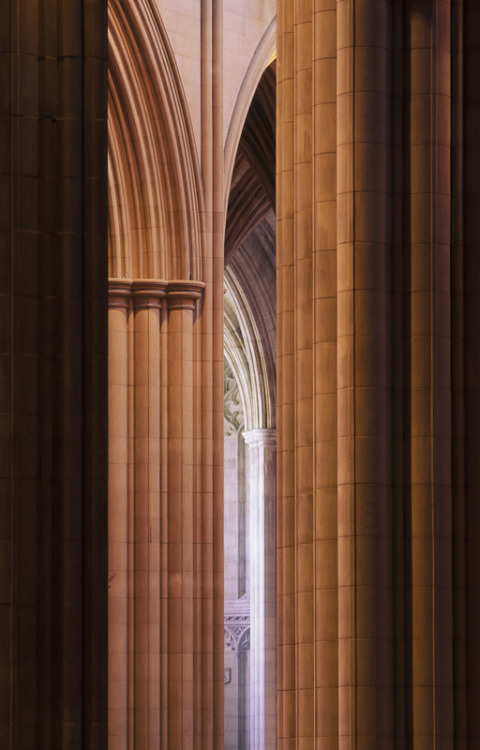 View from the North Transept, Washington National Cathedral, Washington DC, 1994