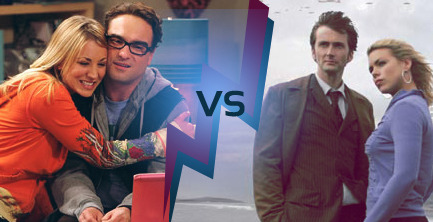 Hypable's BattleShips: The Big Bang Theory VS Doctor Who  Over the past month and continuing for another three weeks is Hypable's BattleShips, a tournament where we pit fandom against fandom to see which relationship on television has the most support. It's all about the chemistry between two characters and the love you have for them, so rally your friends to help support your One True Pairing (OTP)! So far, we have seen Supernatural's Dean/Castiel, Sherlock's Sherlock/Watson and Merlin's Merlin/Arthur beat out Bones' Booth/Bones, Game of Thrones' Arya/Gendry and How I Met Your Mother's Barney/Robin respectively for places in the quarter-finals. Yesterday it was determined that Glee's Kurt/Blaine would proceed while Once Upon a Time's Emma/Regina left the competition. Next up it's The Big Bang Theory vs Doctor Who! Leonard/Penny and 10th Doctor/Rose have been chosen by the readers to represent their respective fandoms, but which couple can gather the most support?! It's time to find out. So cast your vote below, and be sure you share the link with all your fandom friends – we're sure they want the chance to support their ship of choice, too!