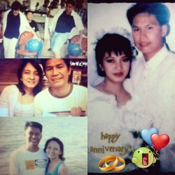 Happy 16th Anniversary Mommy @crissettedelacruzbautista and Daddy! God bless you! Stay In-Love <3