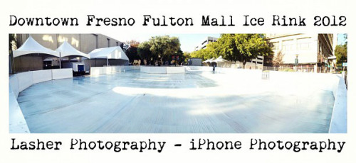 Downtown Fresno ice rink opens to-morrow (Nov. 9, 2012).  Right in the middle of the Valley's most historic buildings! Check out more photos, here.