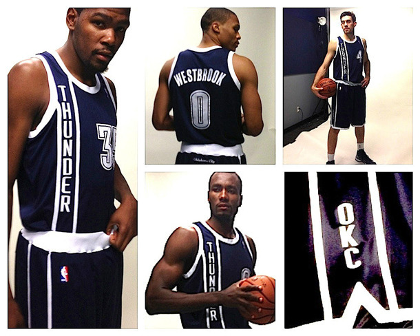 These are the new OKC alternate jerseys. So. Ya or nay?