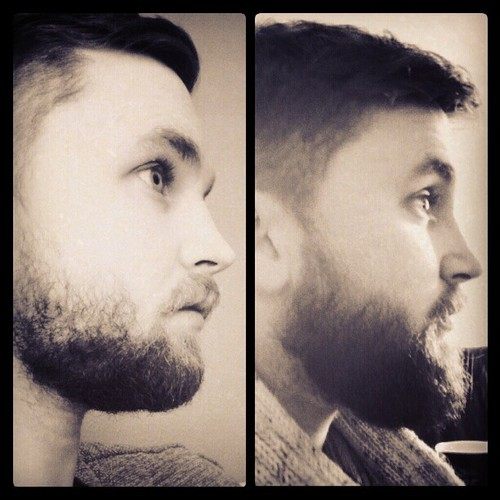 What a difference a couple of months can make. If I hadn't had to trim it would have been even better! -ireallymoustache