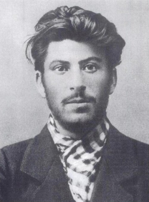 Joseph Stalin c.1902 (age 23) Way sexier than Young Hitler.
