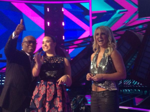 """It's going to be a great night #xfactor is on now!"" LA Reid"