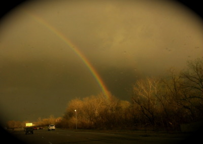 A double reminder of God's promises when I needed it most. Dios de gracia infinita, God of endless grace.