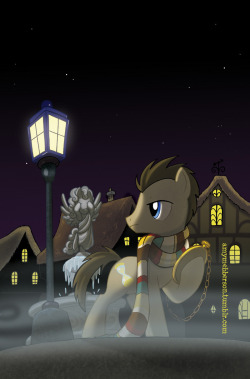 Time Turner (or Dr Hooves, depending on how deep into the fandom you are!) Midtown Comics variant cover for My Little Pony #2, coming late 2012 from IDW!!
