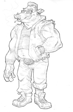 jerald-s-sketchbook:  Bebop