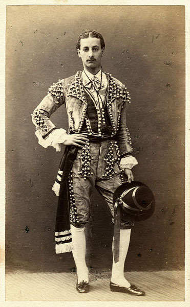 seahorsesandpearls:  Bullfighter Moustache c. 1900