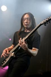 All the intensity in the world. John Myung.