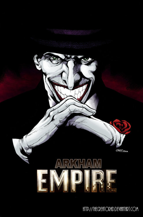 Joker in Arkham Empire by Phillip Sevy Artist blog (via: timetravelandrocketpoweredapes)
