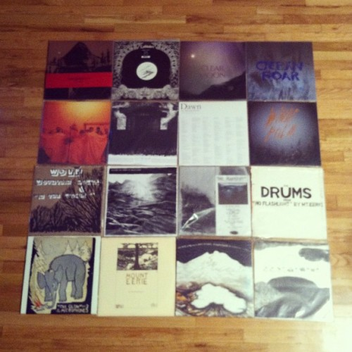 My Mount Eerie / Microphones collection. #mounteerie #themicrophones #pwelverumandsun