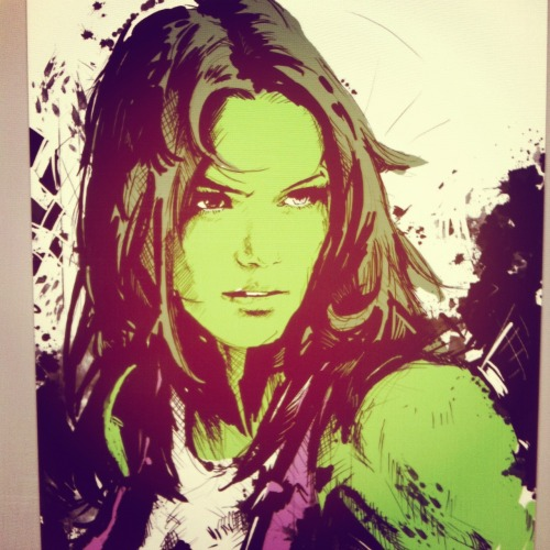 She-Hulk There is still much work to do :D