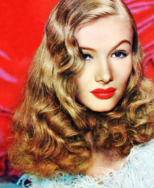 "Happy Birthday Veronica Lake (November 14, 1922 – July 7, 1973)  ""Hollywood gives a young girl the aura of one giant, self-contained orgy farm, its inhabitants dedicated to crawling into every pair of pants they can find."""
