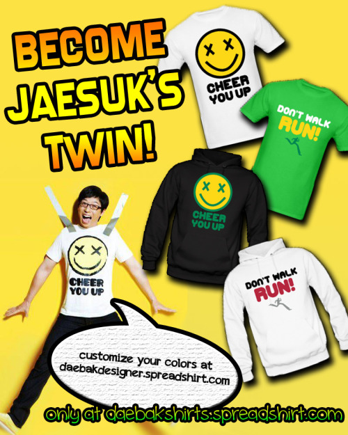 daebakshirts:  YOU KNOW YOU WANT TO MATCH WITH KOREA'S BEST MC!