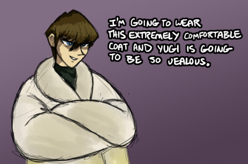 egophiliac:  zicygomar:  Seto Kaiba in a fur coat.  OH WHAT STREAMING HAS BROUGHT This is furious magical wonder…