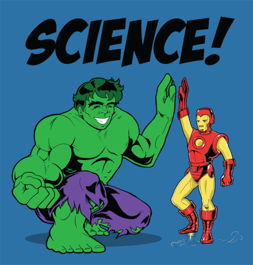Rejected: Science Bros by Heather Carlton Artist facebook / tumblr / deviantart